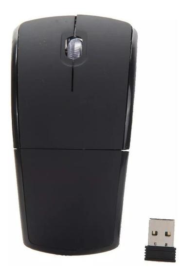 Mouse Arco Dobrável Wireless 2.4ghz Sem Fio + Brinde