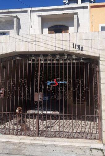 Sobrado Com 2 Dormitórios À Venda, 122 M² Por R$ 700.000 - Jardim Anália Franco - São Paulo/sp - So1593
