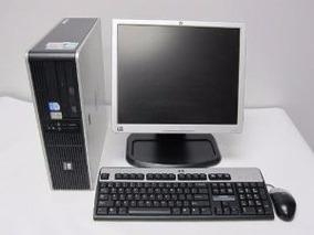 Computador Hp Amd X2 Completo Lcd 17 2gb Mem + Hd 160gb Win