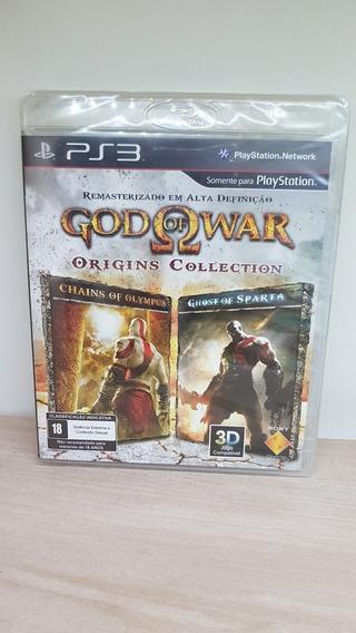 God Of War: Origins Collection Ps3 Novo Lacrado Raridade