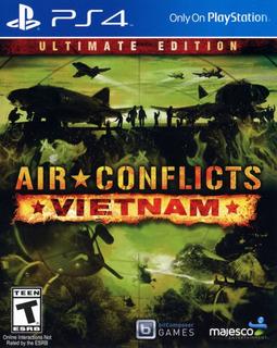 Air Conflicts Vietnam Ps4 Juego Físico