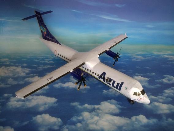 Maquete Avião Atr 72 600