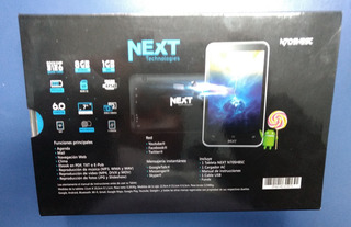 Tablet Next Technologies N70shbsc 7 Negro 8 Gb Camara Quad C