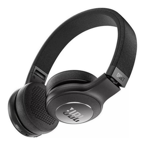 Fone de ouvido sem fio JBL DuetBT preto