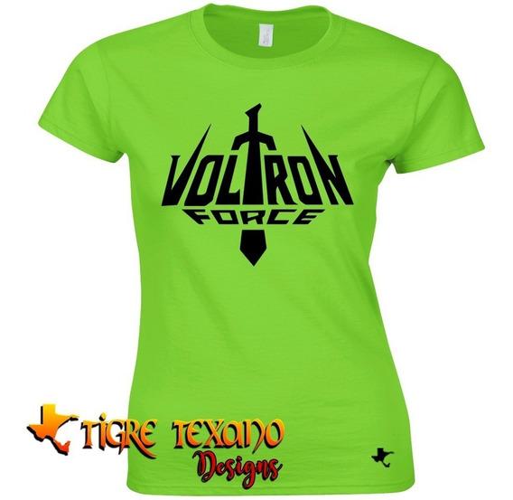 Playera Dibujos Animados Voltron By Tigre Texano Design