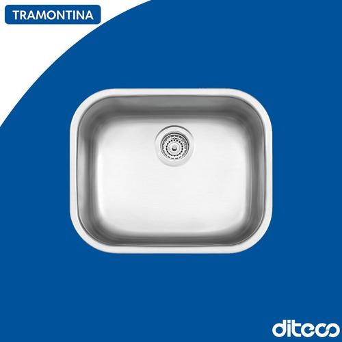 Imagen 1 de 1 de Tramontina 94025/102 Bacha Rect. 50x40x21cm Satinada