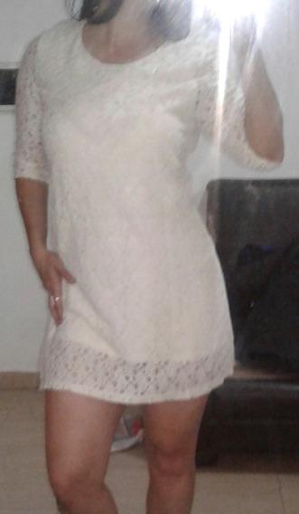 Vestido Civil Novia Vestido Broderie Forrado En Microcentro