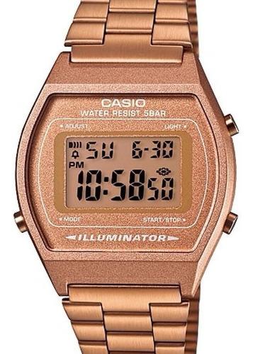 Relógio Casio Feminino Vintage Rose Gold B640wc-5adf - Nfe
