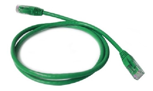 Puntotecno - Patch Cord 0,9 Mts Color Verde Categoria 5e