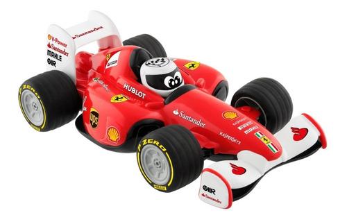 Juguete Ferrari Auto Con Radio Control Rojo