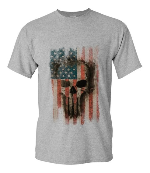 Camiseta Camisa Masculina Caveira Life Plus Size Até G6