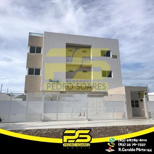 Apartamento Com 2 Dormitórios À Venda, 56 M² Por R$ 165.000 - Portal Do Sol - João Pessoa/pb - Ap2564