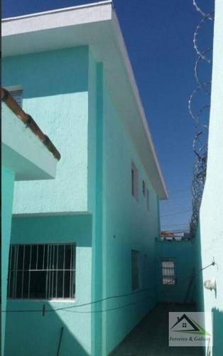 Imagem 1 de 11 de Sobrado Com 3 Dormitórios À Venda, 150 M² Por R$ 505.000,00 - Parque Maria Luiza - São Paulo/sp - So0605