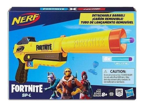 Pistola Nerf Fortnite Cañon Removible - Giro Didactico Envio