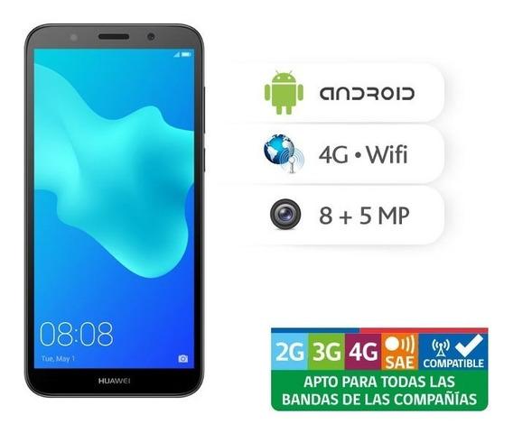 Smartphone Huawei Y5 2018 Black Entel