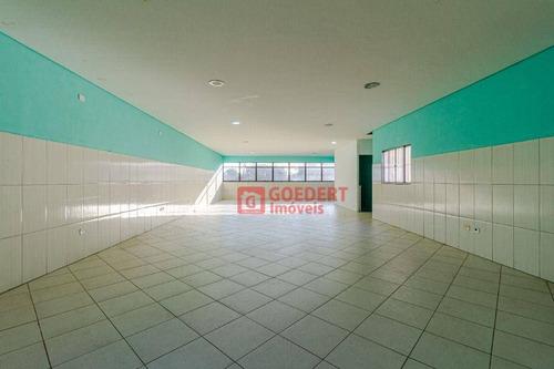 Imagem 1 de 15 de Salão Para Alugar, 110 M² Por R$ 1.500,00/mês - Conjunto Residencial Paes De Barros - Guarulhos/sp - Sl0177