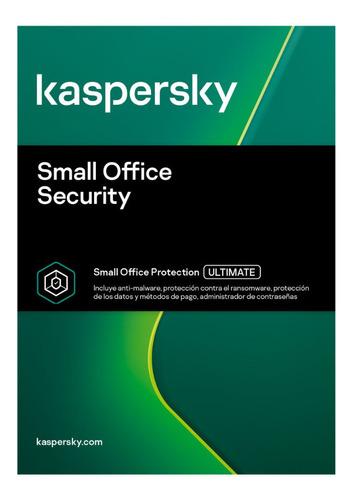 Antivirus Small Office Kaspersky 5 Pcs 1 Servidor 3 Años