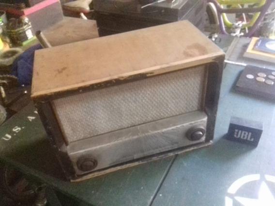 Radio Antigo Madeira No Estado Barato (n Som Tv Telefone)