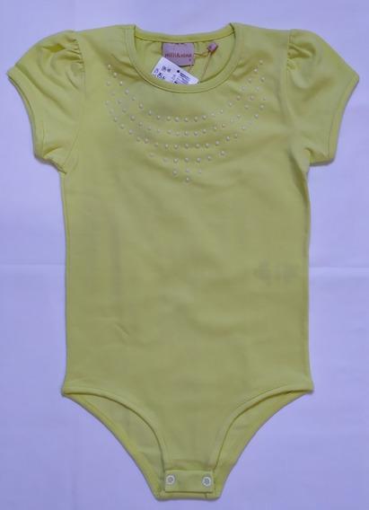 Body Infantil Menina Tamanho 6