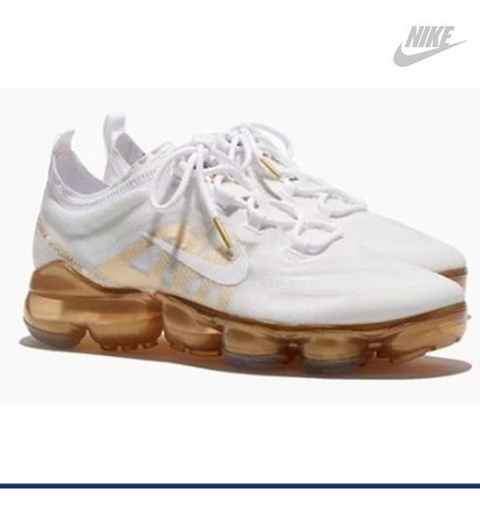 Air Vapormax 2019 White / Metallic Gold Ar6632-901