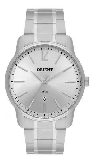 Relógio Orient Mbss1268 S2sx Masculino Prata - Liquidação!