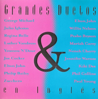 Grandes Duetos En Ingles - Varios Artistas. Pop. Cd.