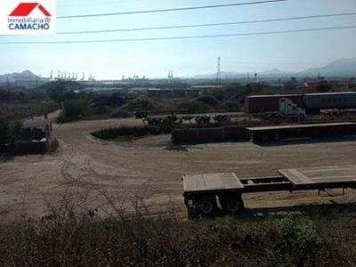 Terreno Industrial En Venta Zona Industrial, Tapeixtles, Manzanillo, Colima; En Una De Las Mejores Zonas Ind