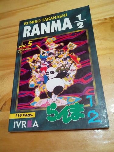 Ranma 1/2 Volumen 5 - Takahashi - Ivrea 1999 - U