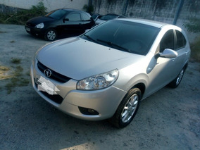 Jac J3 1.4 Série Brasil Completo Prata 2012/couro Novo Uber