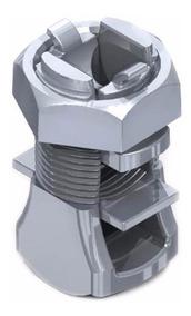 Kit Com 10 Conector Bimetálico Split Bolt 25mm