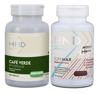 Suplementos Dieta Perda De Gordura Café Verde +slim Max Hnd