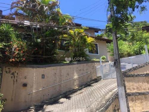 Imagem 1 de 30 de Casa Com 4 Quartos, 320 M² Por R$ 700.000 - Pendotiba - Niterói/rj - Ca15099