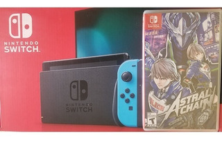 Consola Nintendo Switch 32gb + Astral Chain