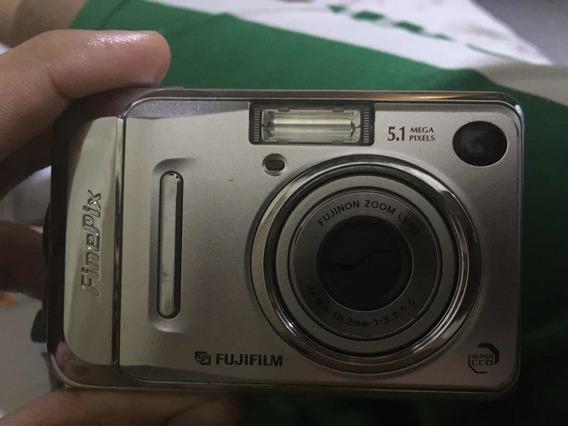 Máquina Fotográfica Fujifilm Finepix A500 5.1 Pixels