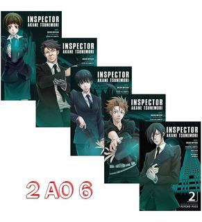 Psycho Pass 2 Ao 6 Inspector Akane Tsunemori! Mangá Panini!