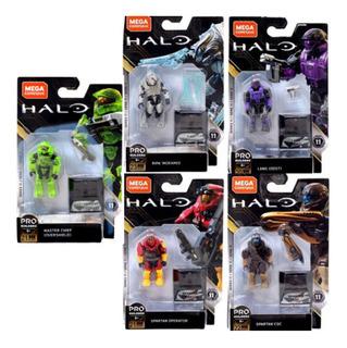 Halo Megaconstrux Serie 11 Nuevo Y Sellado 5 Piezas