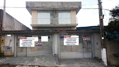 Lindo Sobrado Novo 3 Dorm.(1 Suíte) 120m²ac Bairro Arujamérica - So0053
