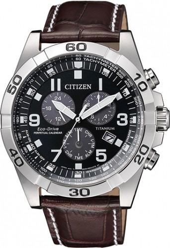 Relógio Citizen Bl5551-06l Calendario Perpetuo Titanium