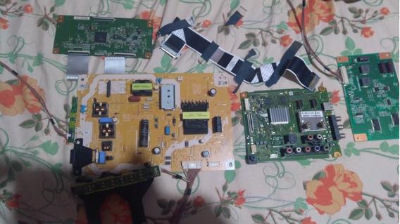 Placa Panasonic Kit Completo Modelo Tc-l39em6b