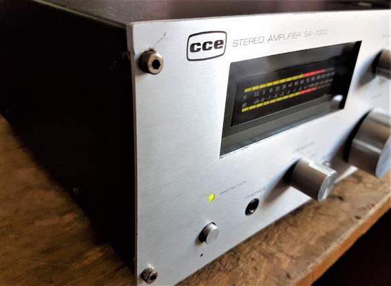 Amplificador Estéreo Cce Modelo Sa-7000 Vintage