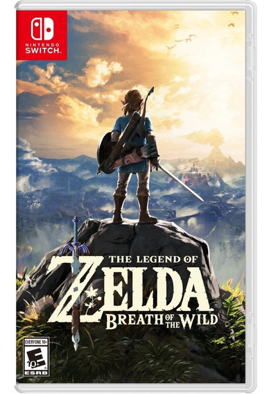 The Legend Of Zelda Breath Of The Wild Switch Mídia Física