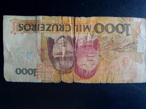 Nota Antiga De 1000 Cruzeiro