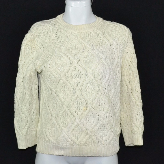 Zara Knit Suéter Verde Clarito S Msrp $380