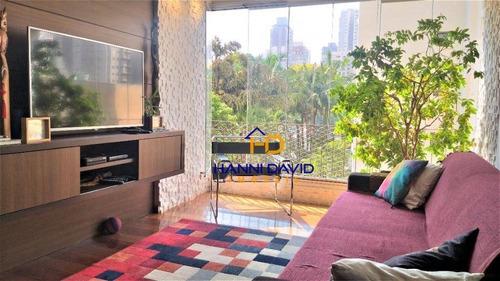 Apartamento À Venda - 2 Dormitórios - Sacada - Vila Olímpia - Fácil Acesso Avenida Brig.faria Lima. - Ap3358