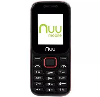 Celular Nuu F3 Dual Fm/bluetooth/sd Preto/vermelho