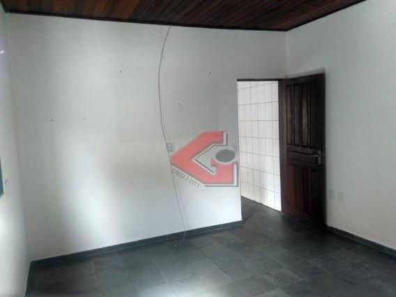 Casa Com 1 Dormitório Para Alugar, 60 M² Por R$ 1.200/mês - Vila Euclides - São Bernardo Do Campo/sp - Ca0497