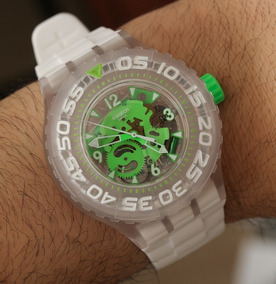Relógio Swatch Scuba Chlorofish Novo