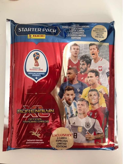 Starter Pack Cards Adrenalyn Fifa World Cup Rússia 2018