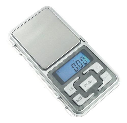 Mini Balanza Digital 0.01 A 200 Grs Visor Lcd C/luz Pesa Oro