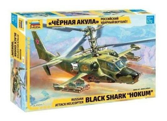 Zvezda Helicoptero Black Shart Hokum 1/72 Supertoys
